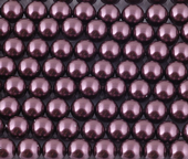 6mm SWAROVSKI® ELEMENTS Burgundy Crystal Pearl Beads - 50 pearls for jewellery making, beadwork and craft